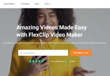 FlexClip Video Maker, Tailored for Beginners to Create A Video