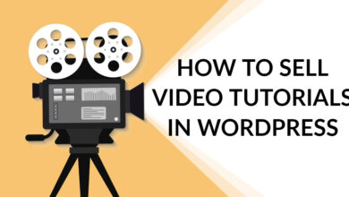 How to Sell Video Tutorials in WordPress