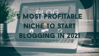 5 Most Profitable Niche to Start Blogging in 2021